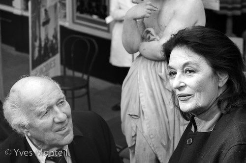 Anouk Aimée & Michel Piccoli
