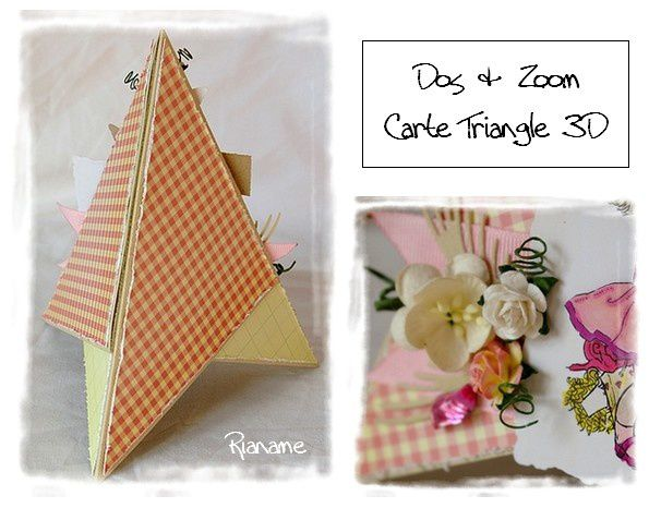 Carte Triangle Tendres Pensees ZoomDos