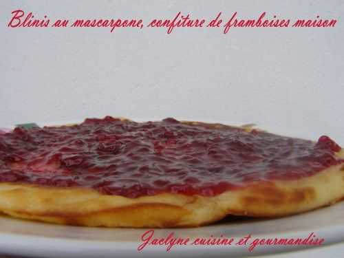 Blinis au mascarpone Le goûter du dimanche en famille Jaclyne cuisine et gourmandise