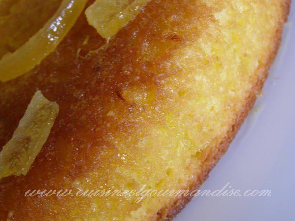 Pour Pierrot! le super gâteau à l'orange au vieux rhum de Guadeloupe