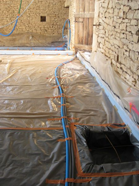 Opration Dalles  Rnovation DUne Grange En Maison D