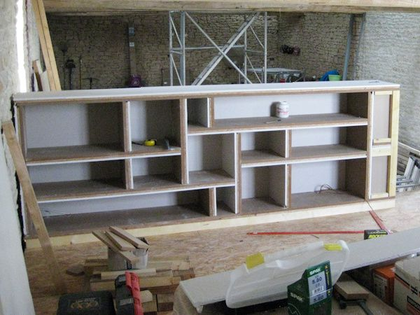 067 premi re structure achev e d but de la seconde r novation d 39 - Construire un meuble en mdf ...