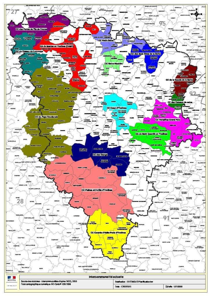 Une intercommunalit 31 communes pour cc coeur d for Que voir dans les yvelines