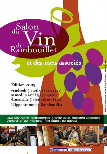 Salon des vins de rambouillet du 03 au 05 avril 2009 for Salon rambouillet