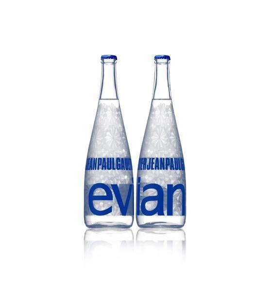 Bouteille Evian Jean-Paul Gaultier 2009