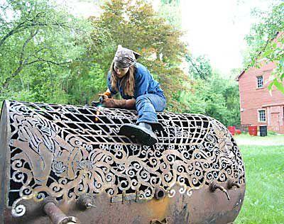 Sculpture le jardin d 39 aphrodite - Sculpture metal jardin ...