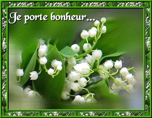 La tradition du muguet du 1er mai nadine de trans en - Bouquet de muguet photo ...