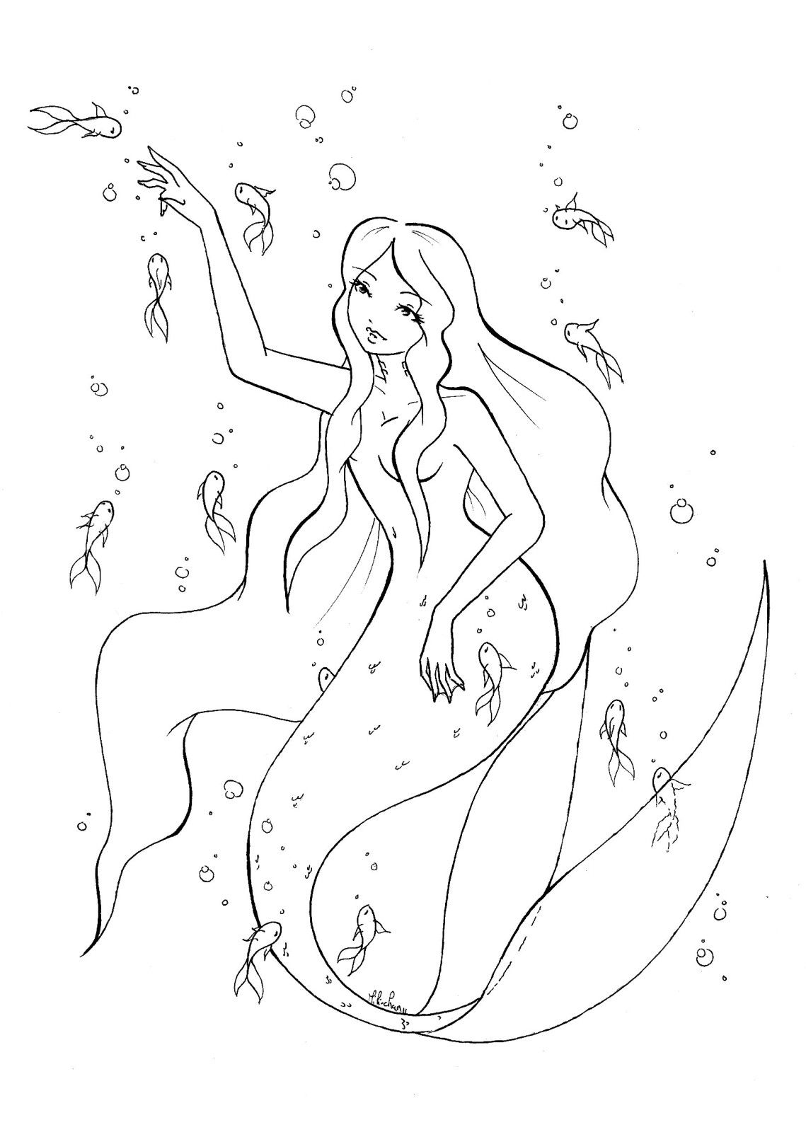 H2o just add water coloring pages printable ~ H2o Just Add Water Coloring Pages Coloring Pages