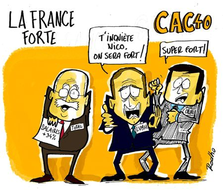 la France forte --- du CAC40