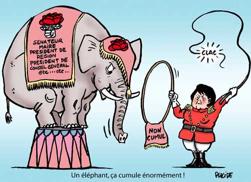 un éléphant ça cumule énormément
