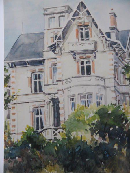 Album aquarelles maisons belle epoque royan alain for Antieke bouwmaterialen maison belle epoque