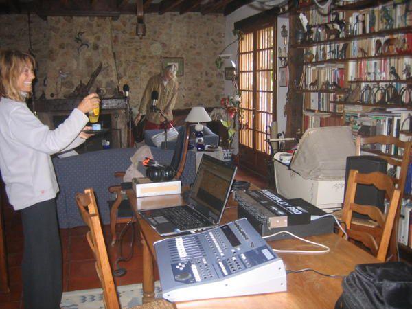 En octobre 2007, Harry et Mariecke sont venus des Pays Bas pour enregistrer notre premier CD !
