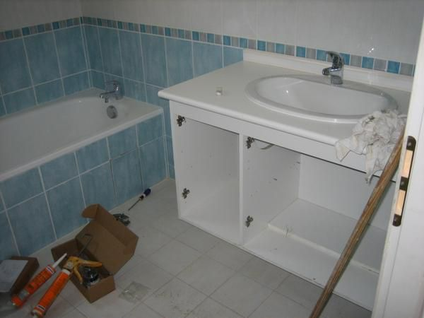 Installation Meuble Salle De Bain Idees Decoration Idees Decoration