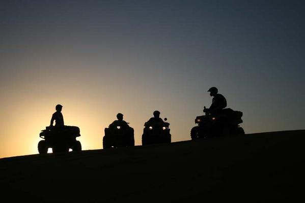 les plus belles photos de quad... Soleil-couchant