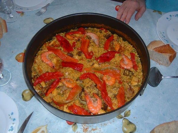 paella de daniele pour 6 personnes plume pudding. Black Bedroom Furniture Sets. Home Design Ideas