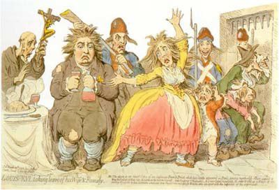FIGURE 12 GILLRAY Louis XVI...A