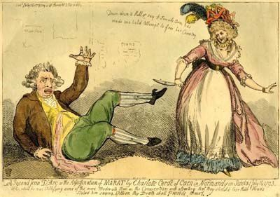 FIGURE 13 Isaac CRUIKSHANK Assassination of MaratA