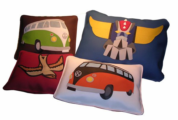 mobilier textile coussins