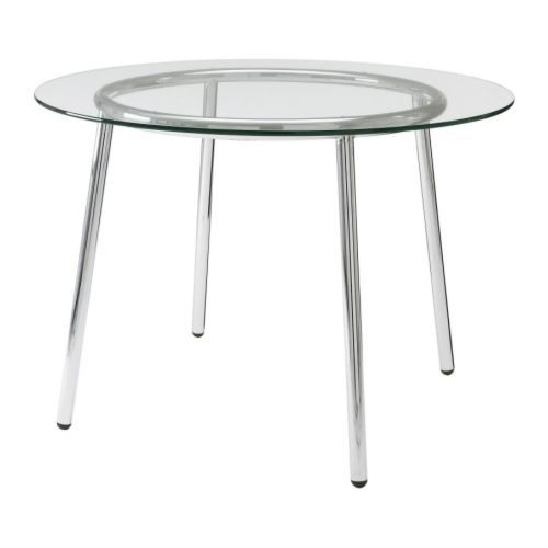 Table ronde verre ikea prix table ronde verre ikea for Nettoyer table en verre