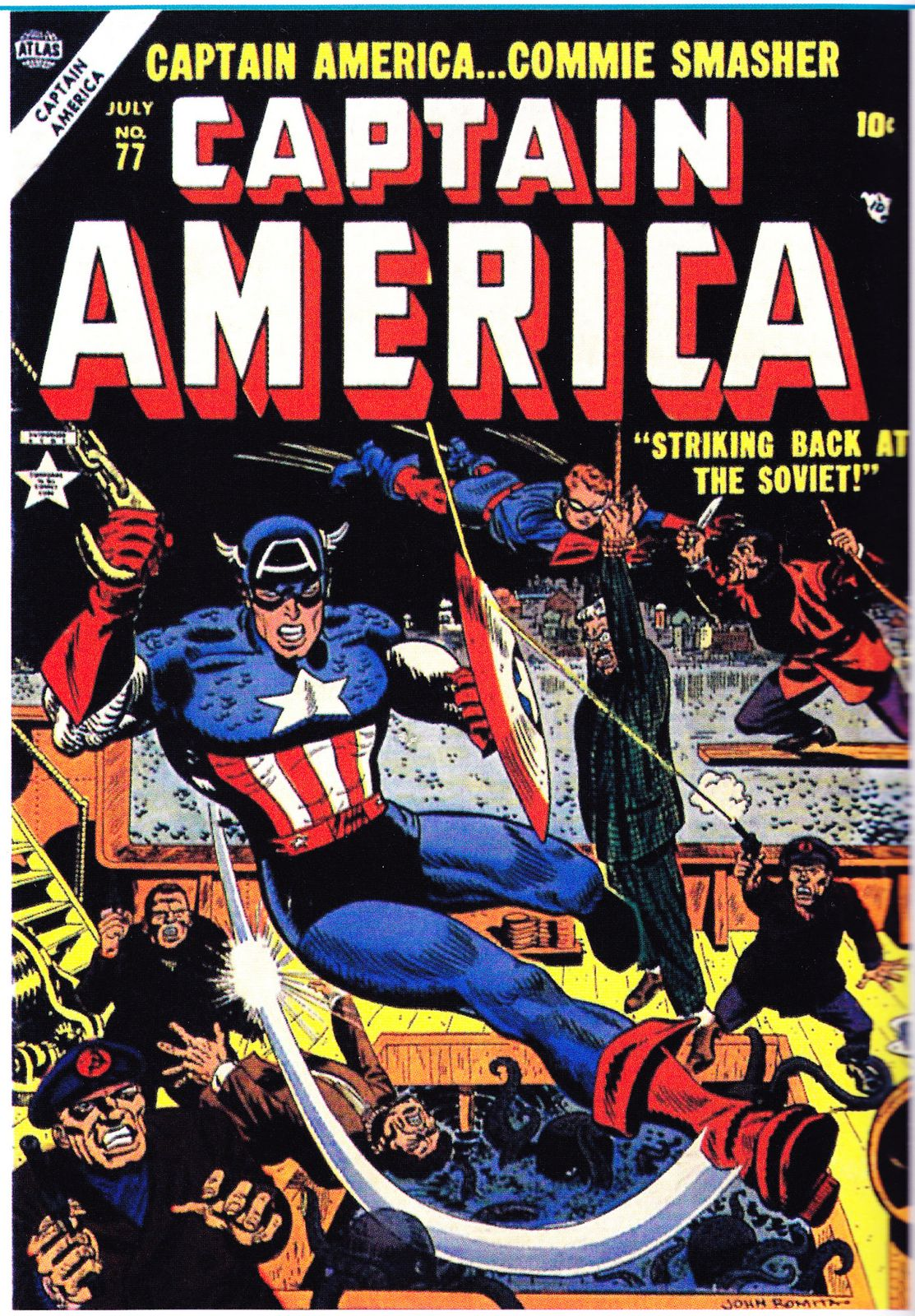 Captain America contre les communistes 1