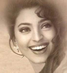 Juhi chawla whats behind that smile lets talk about bollywood what attracts one to juhi chawla is her absolutely irresistible smile okay she was only a miss india 1984 but frankly yash chopras idea to cast her altavistaventures Choice Image