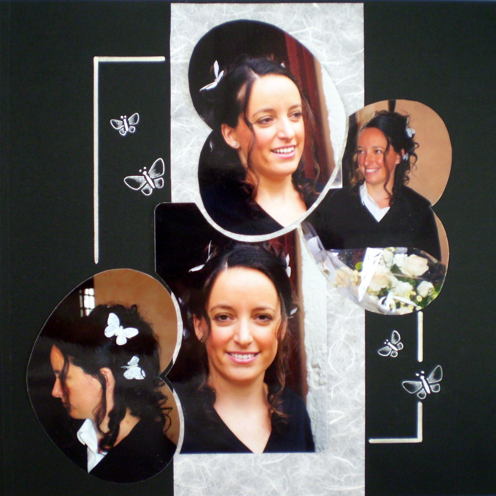 album album de mariage r alis par marie jo azza scrapbooking b ziers. Black Bedroom Furniture Sets. Home Design Ideas