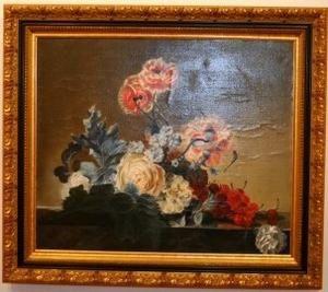 Encadrement d 39 un tableau peint l 39 huile chez styl 39 art cadre gail - Technique d encadrement d un tableau ...