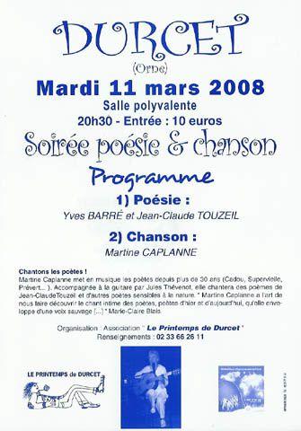 Durcet - 11 mars 08