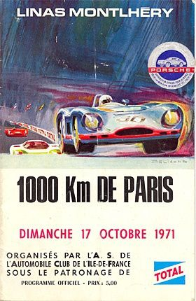 se souvenir de montlh ry 1000 km de paris 1971 blog pour la m moire de l 39 autodrome. Black Bedroom Furniture Sets. Home Design Ideas