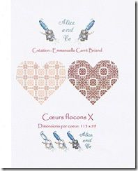 Coeurs flocons X Alice and Co