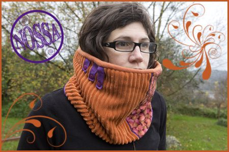 snood orange copie