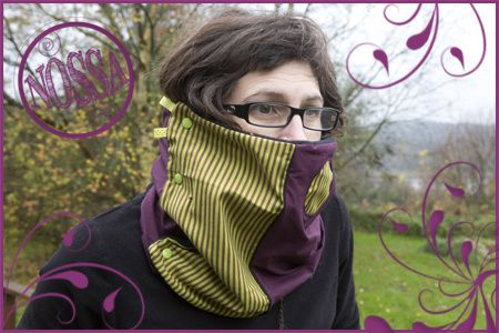 snood rayures copie