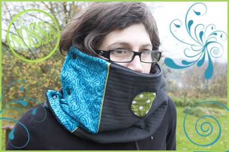 snood rond pois copie