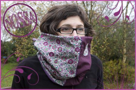 snood rose copie