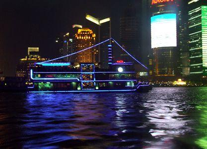 Sur la rivière Huangpu.