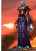 "Suntzu, mon avatar sur ""World of Warcraft""."
