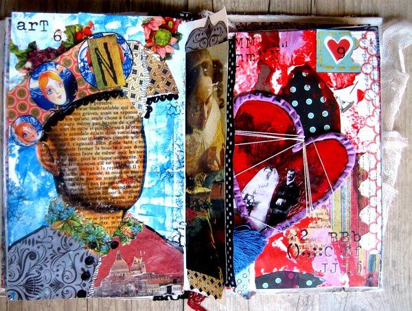 Gut bekannt Collage papier journal artiste – Conception carte électronique cours ZZ54