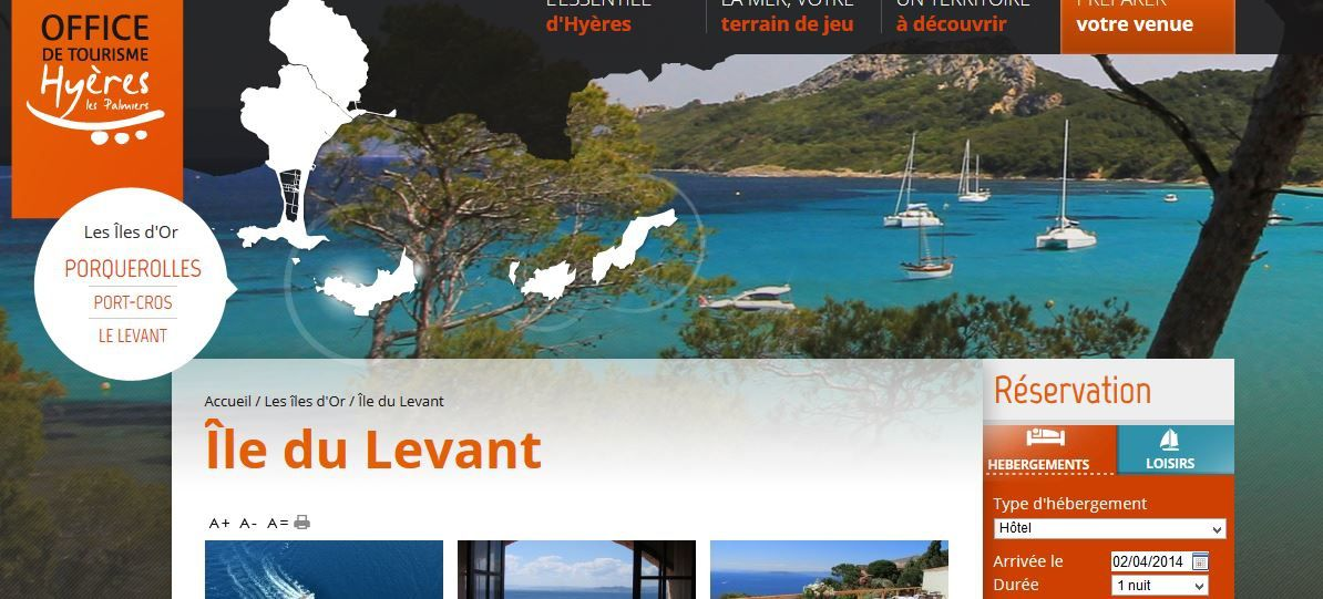 Sur le site de l 39 office du tourisme d 39 hy res l 39 le du - Les carroz d arrache office du tourisme ...