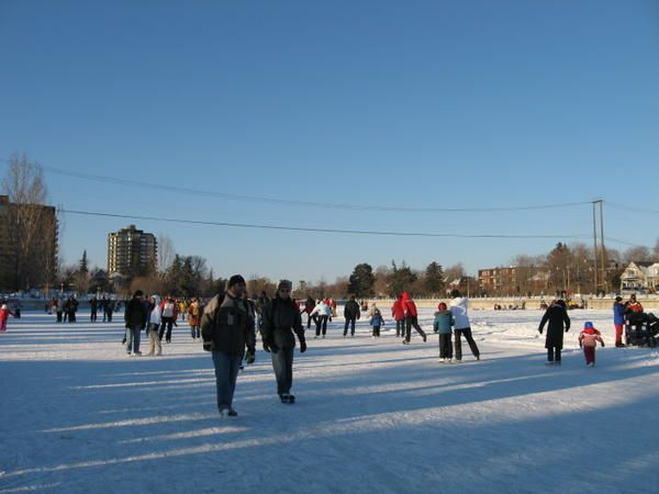 la patinoire naturelle la grande du monde le blog ecole d aurelie. Black Bedroom Furniture Sets. Home Design Ideas
