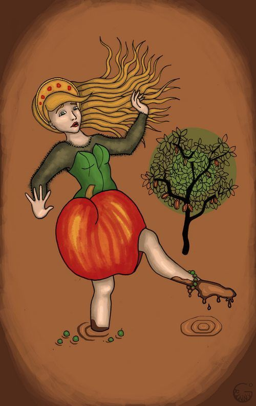 Femme fruit
