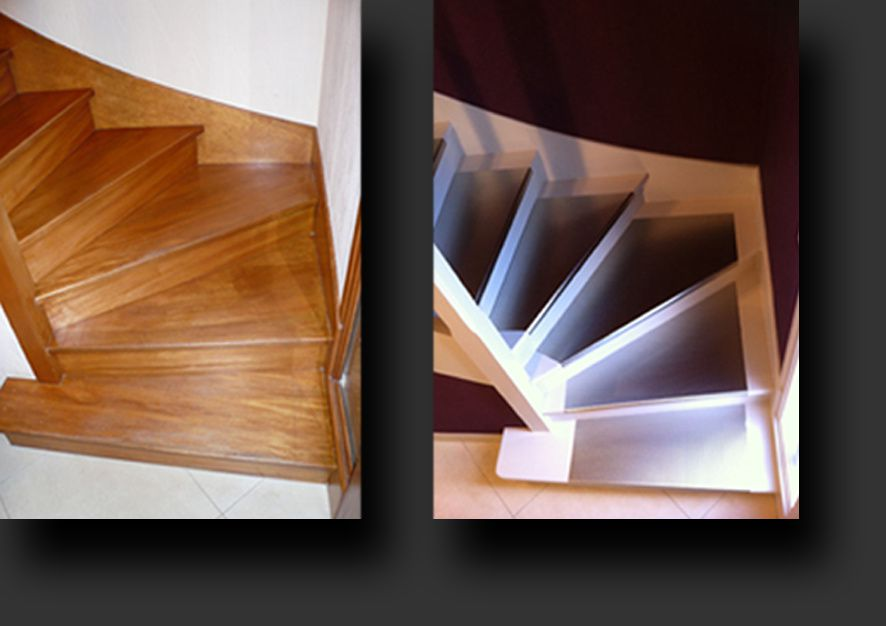 Relooking saez creations - Home staging escalier ...