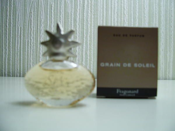 grain de soleil fragonard miniatures parfum es. Black Bedroom Furniture Sets. Home Design Ideas