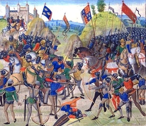 Battle of crecy froissart