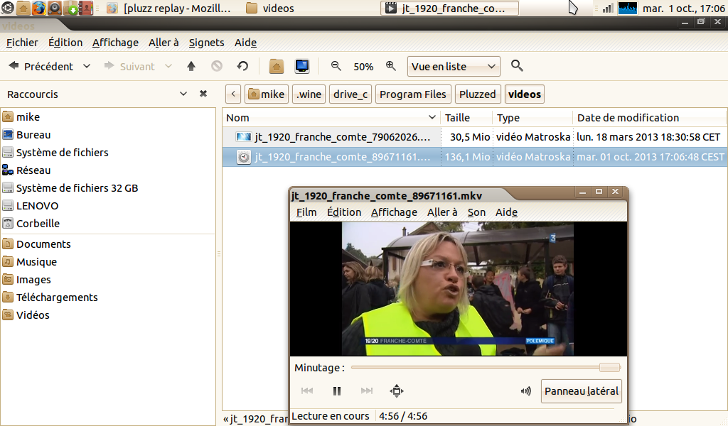 video pluzz ubuntu