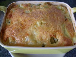 gratin de courgettes aux herbes le blog culinaire pause. Black Bedroom Furniture Sets. Home Design Ideas