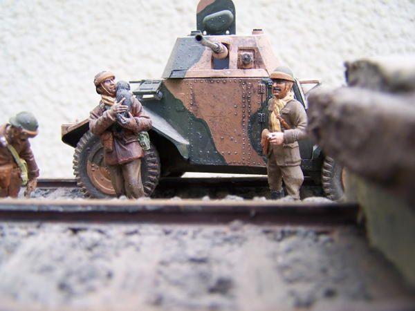 En Belgique campagne 1940
