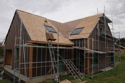 encore un autre pan de toiture maisoneco blog de la construction cologique de notre maison. Black Bedroom Furniture Sets. Home Design Ideas