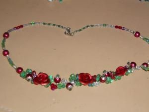collier rouge