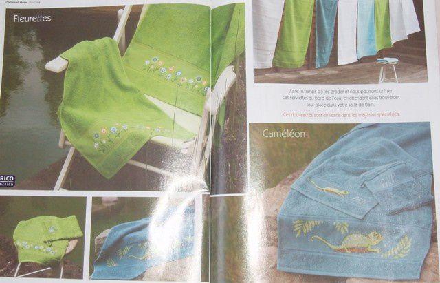photos des ouvrages présents dans point de croix magazine de janvier/février 2011