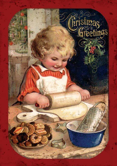 voici pour vous de petites images vintages de Noël que je partage avec vous et que vous pouvez m'emprunter .